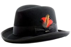 chapéu-homburg